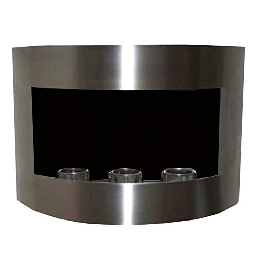 Why Choose Gel + Ethanol Fire-Places Ethanol Fireplace Model Marseille Stainless Steel/Black