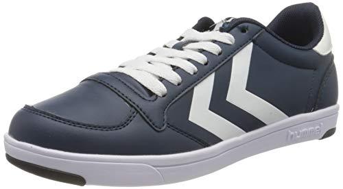 Hummel Unisex-Erwachsene Stadil Light Sneaker Niedrig, Blau (Navy 7003), 41 EU