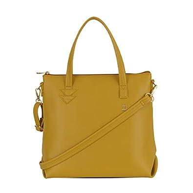 Baggit Women's Tote Handbag (Yellow)