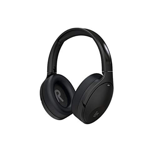 Fone Tronsmart Apollo Q10, ANC, Bluetooth, com cancelamento de ruído ativo, Reduz o nível de ruído em até 35dB, 40mm Driver de áudio, 100 horas Vida útil da bateria, 5 microfones, Deep Bass - Preto