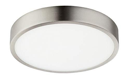 Deckenlampe Dimmbar Rund Flur Deckenleuchte LED Wohnzimmerlampe (Flurlampe, Schlafzimmerlampe, 17 cm, 22 Watt, Neutralweiß)
