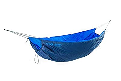 ENO, Eagles Nest Outfitters Ember UnderQuilt Hammock Insulation for Spring and Fall, Pacific