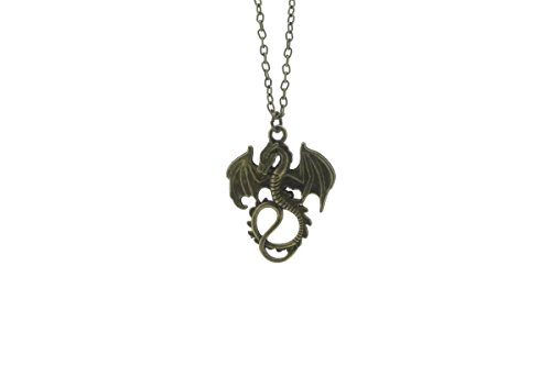 Game of Thrones inspiriert Daenerys Targaryen Dragon Halskette & Armband Set
