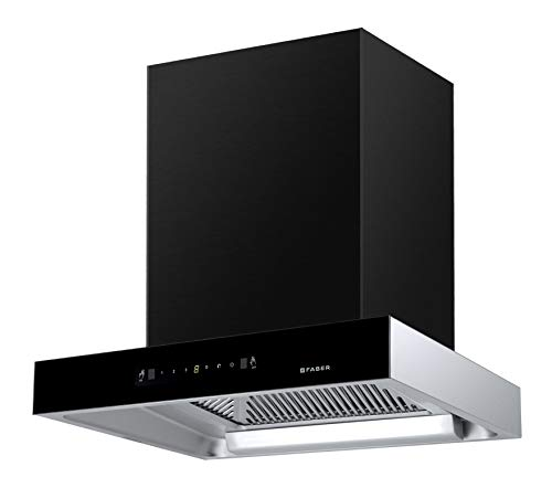 Faber 60 cm 1350 m³/hr Auto-Clean box-type Kitchen Chimney (HOOD JUPITER HC SC BK 60, Filterless technology, Touch Control, Black)