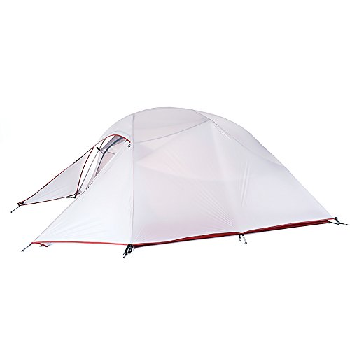 Naturehike Cloud-up Ultraleichte 3 Personen Rucksackreisen Zelt doppelten Wasserdicht Camping Zelt