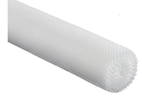 Gläserabtropfmatte auf Rolle 5 x 0,6 m transparent - flexibel zuschneidbar
