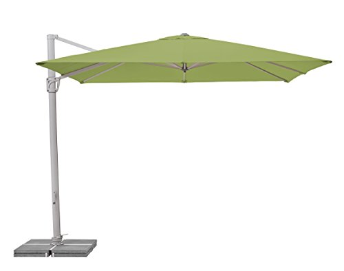 Suncomfort by Glatz Sunflex, kiwi, 300x300 cm quadratisch, Gestell Aluminium, Bespannung Polyester, 28 kg