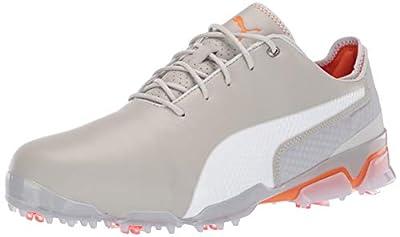 Puma Golf Men's Ignite PROADAPT Golf Shoe, Gray Violet-Puma White, 10.5 Medium US