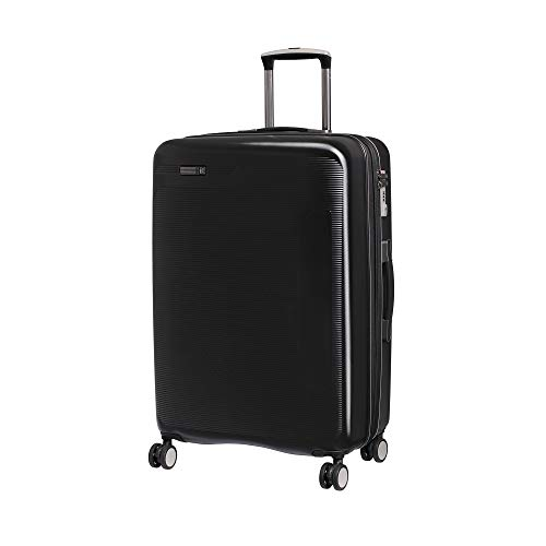 IT Luggage 27.2' Signature 8-Wheel Hardside Expandable Spinner, Black, One Size