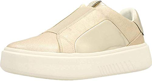 Geox D828DBKYBN Sneakers Donna Platino/Oro 36