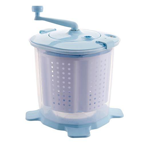 PLMM Tragbare Handbetriebene Waschmaschine, Tragbare Single Barrel Waschmaschine Braucht Keine ElektrizitäT, Kompaktes Design