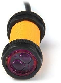 Unique India Sales E18-D80NK IR Infrared Sensor Module for Transparent/Opaque - BLACK