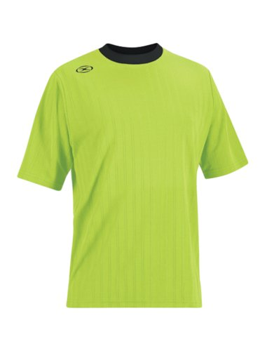 Tranmere Soccer Jersey - Adult X-Large, Fluorescent Green/White