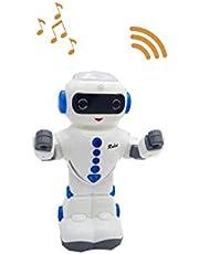CLICLED Space Robot Giocattolo per Bambini Cammina luci e Suoni Gioco Bimbo 38739