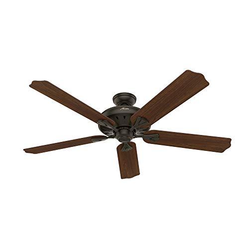 HUNTER 50466 Royal Oak Ceiling Fan, 60, New Bronze