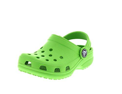 Crocs Classic Sneaker, Lime, 35 Junior