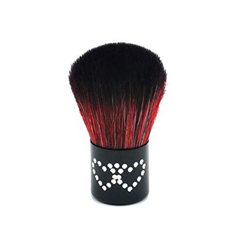 Gespout Pinceau de Maquillage Professionnel pour Visage Noir Nylon Poignée en Aluminium Fond de Teint Poudre Blush Style 2