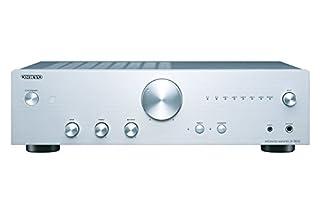 Potenza di uscita: 44 W / ch 2 ingressi audio digitali: ottica e coassiale 5 uscite audio analogiche Contenuto della confezione: amplificatore, telecomando, 2 batterie AAA e manuale