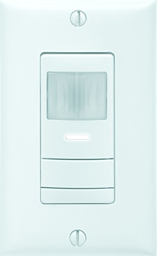 Sensor Switch WSX PDT WH Dual Detection Occupancy Single Pole Wall Switch Sensor, White by Sensor Switch