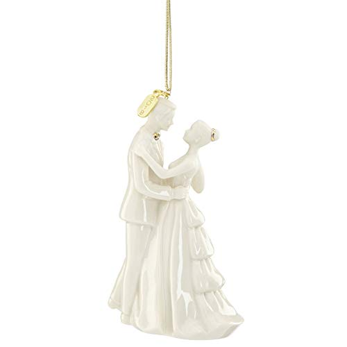 Lenox 884547 2019 Bride and Groom Ornament