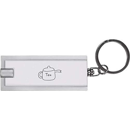 Azeeda 'Teekanne' Schlüsselanhänger LED Taschenlampe (KT00007147)