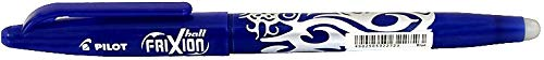 Pilot Frixion Ball - Erasable Ballpoint Pen, Pack of 4, Blue