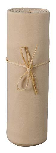 P'tit Basile - Drap housse berceau nacelle 100% coton Jersey Bio - extensible de 40x80 cm à 50x90 cm - convient aux lits cododo co-sleeping et matelats next2me, kinderkraft, neste etc.