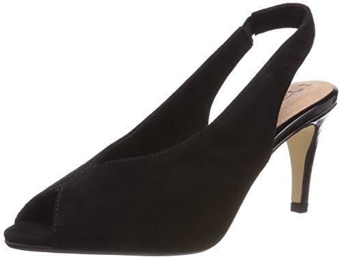 Tamaris Women's 1 1 29614 32 001 Ballet Flats, Black (Black 1), 6 UK
