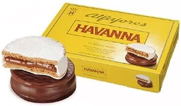 Havanna Alfajor Mixtos 306 Grams (6 Alfajores)