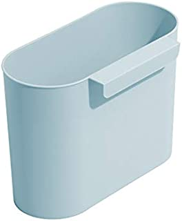 ゴミ箱をぶら下げキッチンキッチンの寝室のバスルームの小さなゴミ箱ゴミ箱 (水色, onesize)