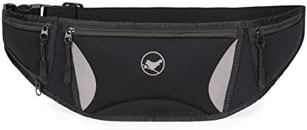 Sunny Bird Joggers Running Belt Runners Fanny Pack Adult Belt Pouch for Women and men Black product image