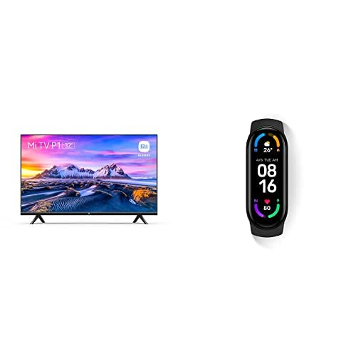 Xiaomi Smart HD TV P1 32 Pulgadas + Xiaomi Smart Band 6