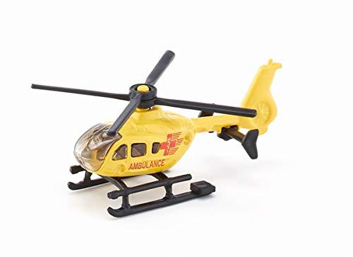 siku 0856, Helicóptero de rescate, Metal/Plástico, Amarillo, Rotores giratorios