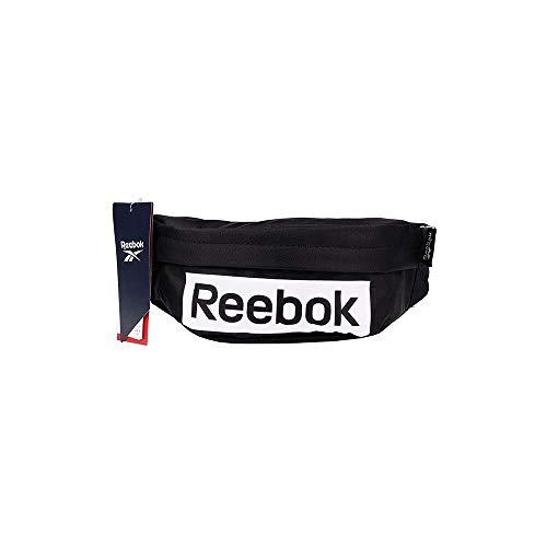 Reebok Linear Logo Waistbag Riñonera, Unisex Adulto, Negro, Talla Única