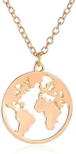 NC190 Collar Mariposa Collares Colgantes Mujer Gargantillas Collar Cadena de Onda de Agua Babero Oro Amarillo Lleno Joyas Gruesas