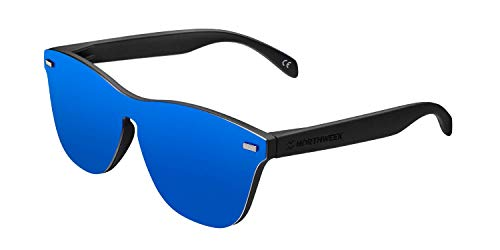 NORTHWEEK Phantom Regular Jibe Gafas, Negro Mate - Azul, Adulto Unisex Adulto
