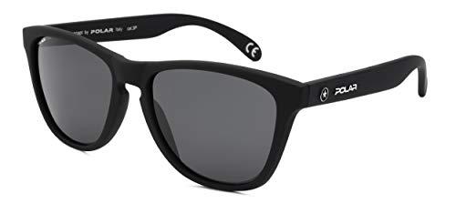 Polar sonnenbrille unisex polarisiert matt schwarz (P30680)