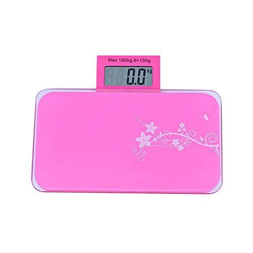 Chunjiao Escala de pesaje Escala de peso de salud electrónica, escala de regalo Bilancia Pessapersone Ballo de baño, Temperatura de la sala de pruebas Pese PERSONE MAX 180kg Balanzas electrónicas Esca