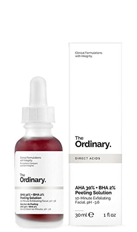 結論虚偽硬化するジ オーディナリー The Ordinary AHA 30% + BHA 2% Peeling Solution 30ml カナダ発の大注目スキンケアブランド【並行輸入品】