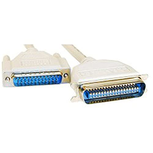 BeMatik - Centronics Parallel Drucker Kabel 5 m (DB25M-CN36M)