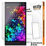 Orzly Razer Phone 2 Screen Protector, Triple Pack of