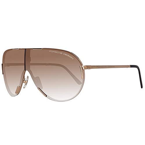 Porsche Design Sonnenbrille P8486 A 71 0 130 Iconic Gafas de sol, Dorado (Gold), 71.0 para Hombre