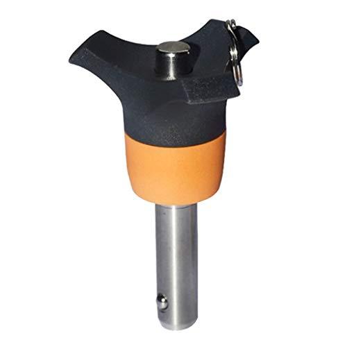 Shiwaki Hochwertiger Φ 6 mm Kugelsperrbolzen Steckbolzen - 45mm