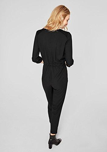 s.Oliver Damen Jumpsuit, Schwarz (Black) - 6