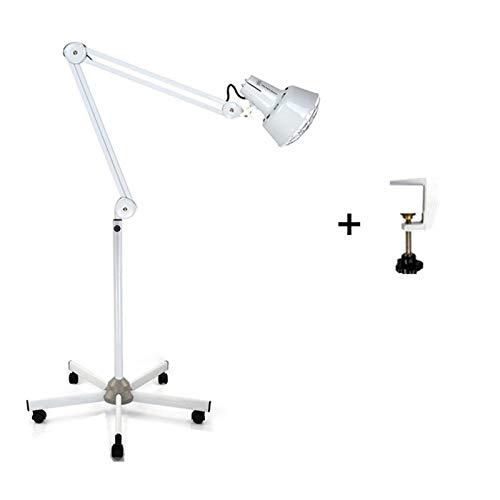 Lampe à infrarouge en pied 5 roulettes/table