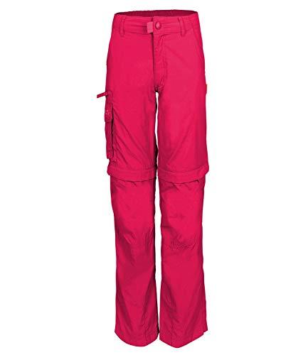 Trollkids Quick-Dry Zip-Off Hose Oppland Slim Fit, Rubinrot, Größe 146