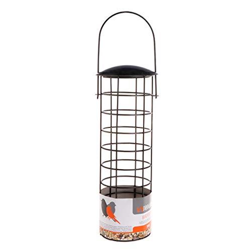 Luosh Bird Feeder mesh voeden, wilde vogels in de open lucht voeden met kleerhangers voor tuin park boom hangende producten levensmiddelcontainer fruit papegaai