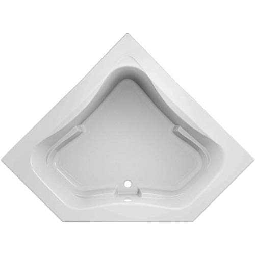 Jacuzzi J5D6060BCXXXXW Jacuzzi J5D6060 BCX XXX Signature 60' Corner Soaking Bathtub with Center...