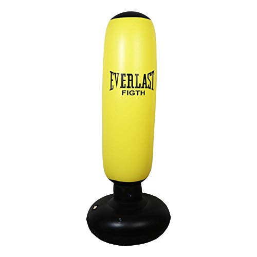 Punching Ball di Fitness, Pesante Sacco da Boxe Calcio d'allenamento Gonfiabile Punching Tower Bag Freestanding Tumbler Column Sandbag Bambini Fitness Sport Play Adulti De-Stress Boxing Target