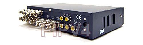 Premium 8-Channel Split Screen Surveillance Video Multiplexer